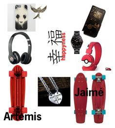 """Artemis and Jaimé"" by ironkyle ❤ liked on Polyvore featuring Beats by Dr. Dre and Rado"