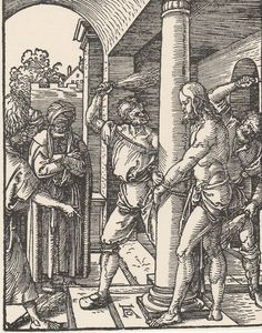 The Flagellation - Small Passions Engraving After Albrecht Durer #17 #artsale #print #wow #Christian #belief #toeslam #eBay #sale