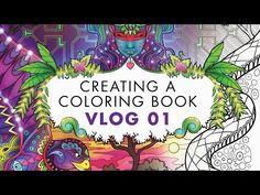 Ayahuasca Coloring Book LIVE Facebook Flip-Through - YouTube
