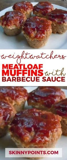 meatloaf muffins with barbecue sauce come with only 2 weight watchers smart points