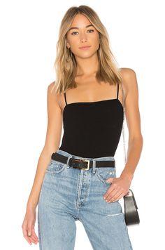 Privacy Please x REVOLVE Cypress Bodysuit in Black | REVOLVE