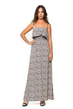 12 (Manufacturer Size: 38), Gray, Divina Providencia Women's Vestido Astrid Bali