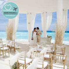 Beautiful Beach Side Wedding At Le Blanc Spa Resort In Cancún Mexico