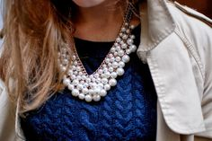 Always wear your pearls
