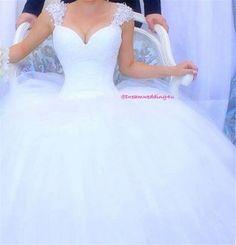 9030 White Ivory Wedding Dress Lace Cap Sleeve Beaded Prom Gown Bridal Dresses Wedding 2016 size 16 18 20 22 24 26