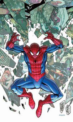Superior Spider-Man #31 by Giuseppe Camuncoli