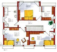 Die 8 Besten Bilder Von Grundriss Gerade Treppe House Floor Plans