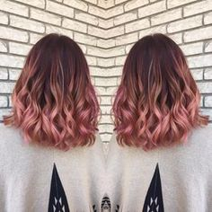 Rose Gold Hair Color Balayage & Color Specialist (@hairbymadisoncarlisle) • Instagram photos and videos