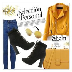 """sheIn 2/10 :)"" by leagoo ❤ liked on Polyvore featuring Topshop and Nearly Natural"