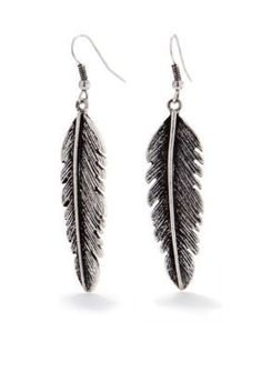 Red Camel  Feather Earrings