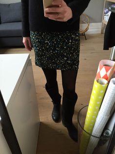 mini jupe élastique