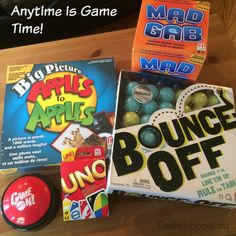 Fun board games for older kids from Mattel. http://tweenhood.ca/mattel-anytime-is-game-time/