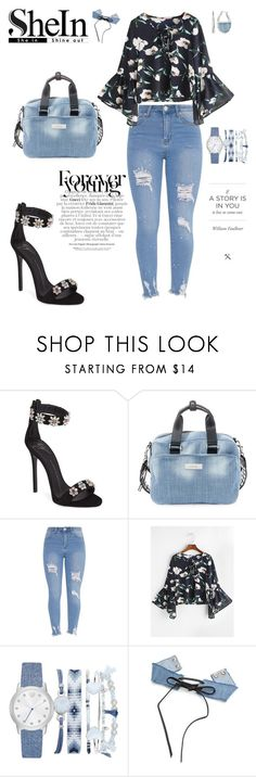 """""""Young Forever"""" by agnesmakoni ❤ liked on Polyvore featuring Giuseppe Zanotti, Steve Madden, A.X.N.Y. and Kenneth Cole"""