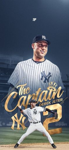 Derek Jeter is an international icon. Jeter continuously set the standard for class and professionalism both on and off the field. Go Yankees, Yankees Logo, Yankees News, New York Yankees Baseball, New York Giants, Mlb Players, Baseball Players, Baseball Tickets, Baseball Teams
