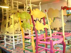painted chairs images | Painted Chairs From Ocotober