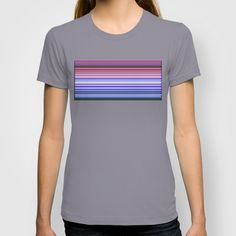 Re-Created Channels viii #T-shirt by #Robert #S. #Lee - $18.00
