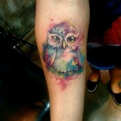Gorgeous tattoo ..!!  Credit :  @_nikotinn_ - . #owl #owls #owllove