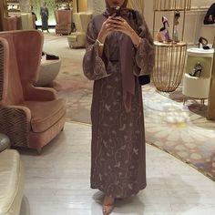 Hijab abaya chic