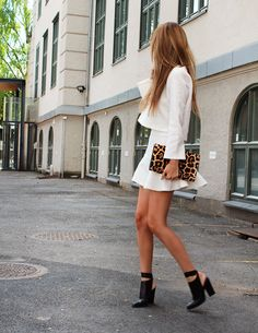 Saint Laurent leopard clutch + alexander Wang shoes http://stylista.no/blog/nettenestea/x