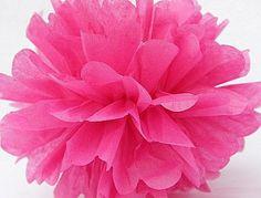 Mint POM POM 5pcs 20cm Tissue Paper Pom Poms Flower Balls Party Wedding Home Birthday Tea Party Decorations