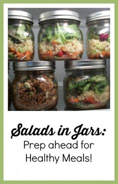 Salads in Jars: Prep