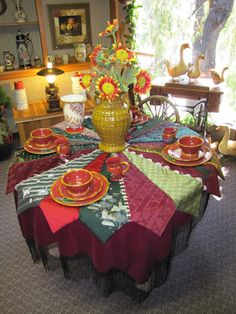 Piecemakers Handmade Necktie Tree Skirt - $200.00 : Piecemakers Country Store, Products Pages