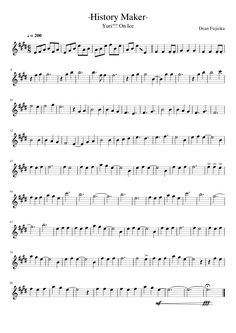Sheet music made by enelesuno for Flauta