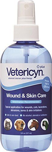 Vetericyn All Animal Wound and Infection Spray 8 oz *** See this awesome image  : Cat Supplies