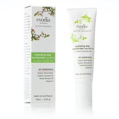 Active Organics Moisturiser Size: 75ml / 2.5fl oz  RRP: AUD$26.95  Product Code: 400104   available from www.evodia.com.au
