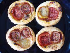 Balsamic tomato galettes