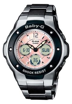 Sweeeet looks sporty but can i take it for a dive? --- Casio Women's Baby-G Watch MSG300C-1B Casio. $186.71