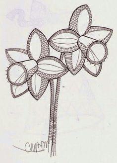 Flor Scrap Quilt Patterns, Bobbin Lace Patterns, Irish Crochet, Crochet Lace, Lace Weave, Lacemaking, Needle Lace, String Art, Hobbies And Crafts
