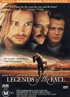 """Legends of the Fall"". Awesome Anthony Hopkyns."