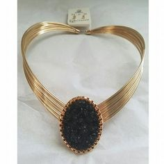 Black Druzy Choker · Joonam Boutique · Online Store Powered by Storenvy