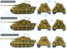 Tiger II camo with zimmerit (enhanced edition) - Tank Skins Tiger Ii, Tiger Illustration, Camouflage Patterns, Tiger Tank, Tank Destroyer, Camo Designs, Camo Colors, Ww2 Tanks, World Of Tanks