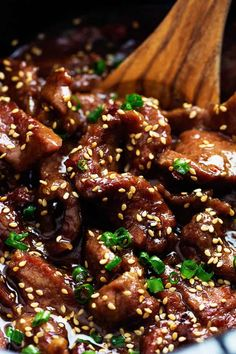 Cooker Korean Beef Amazing and flavorful beef that slow cooks to tender melt in your mouth perfection!Amazing and flavorful beef that slow cooks to tender melt in your mouth perfection! Korean Beef Recipes, Slow Cooker Korean Beef, Asian Recipes, Korean Food, Korean Beef Stew Recipe, Crockpot Mongolian Beef, Korean Dishes, Slow Cooker Recipes, Beef Recipes