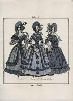 World of Fashion July 1837 LAPL