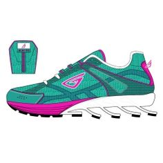 Funky Light Running Shoes