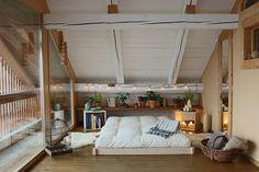 Lit tatami monté en moins de 3 minutes Tatami, Decoration, Bunk Beds, Europe, Loft, Interior Design, Table Design, House, Furniture