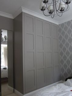 7 Marvelous Diy Ideas: Picture Frame Wainscoting Home wainscoting full wall interior design.Traditional Wainscoting Board And Batten wainscoting farmhouse sinks. Alcove Wardrobe, Ikea Wardrobe, Bedroom Wardrobe, Wardrobe Doors, Built In Wardrobe, Painted Wardrobe, Double Wardrobe, Closet Doors, Wainscoting Stairs