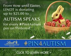 #Pin4Autism and Make a Difference with Lindt!  Click on the image to learn more.