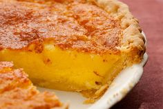 Buttermilk-Lemon Chess Pie ...