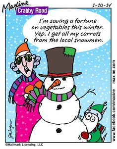 The post Funny Maxine! appeared first on Gag Dad. Senior Humor, Christmas Jokes, Christmas Cards, Merry Christmas, Xmas, Aunty Acid, Office Humor, Beautiful Mind, Love Her