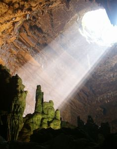 The Grottoes of Castellana, one of Italy's most famous caves.