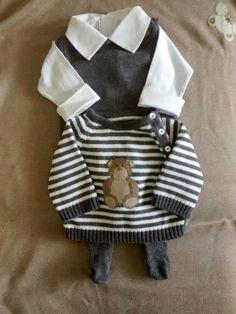 Saida de maternidade Ted Bear