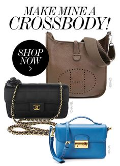 35b6b58dfd87 THE BEST OF THE BAGS    Make Mine a Crossbody! Fashion Addict