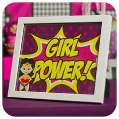 Supergirl; Supergirl Party; Supergirl Birthday Party; Supergirl Birthday; Super Girl; Super Girl Party Signs Printed, Cut, and Shipped!!