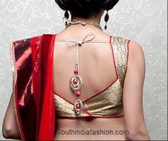Latest Fashionable Saree Blouse Designs~Latest Blouse Designs~South India Fashion