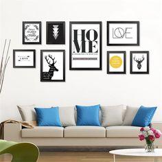 Children Bedroom Study Room Wall Decor Painting Nordic Simple Fresh Cartoon Decor Printing On Canvas Painting FG0082