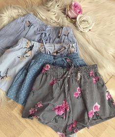 Cute Casual Outfits, Girly Outfits, Short Outfits, Outfits For Teens, Summer Outfits, Girls Fashion Clothes, Girl Fashion, Fashion Outfits, Pants For Women